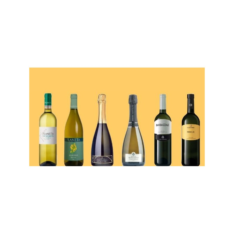 *** Selezione Vini Bianchi Sicilia - 6 Bottiglie -