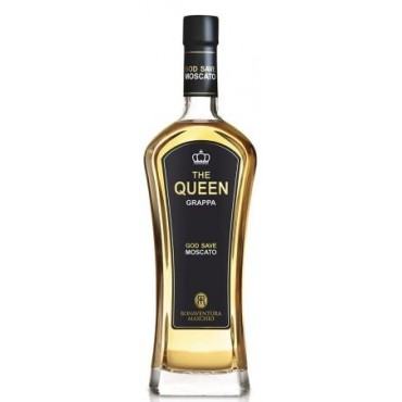 The Queen Grappa di Moscato -