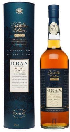 Oban The Distiller's Edition 1998
