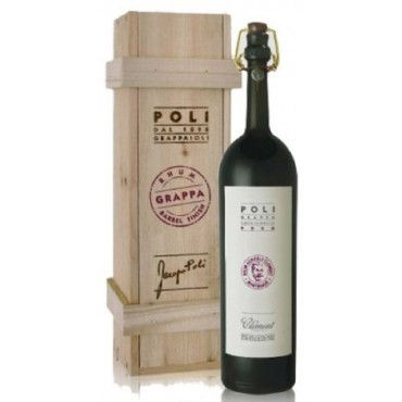 Poli Grappa Rhum Barrel Clement -