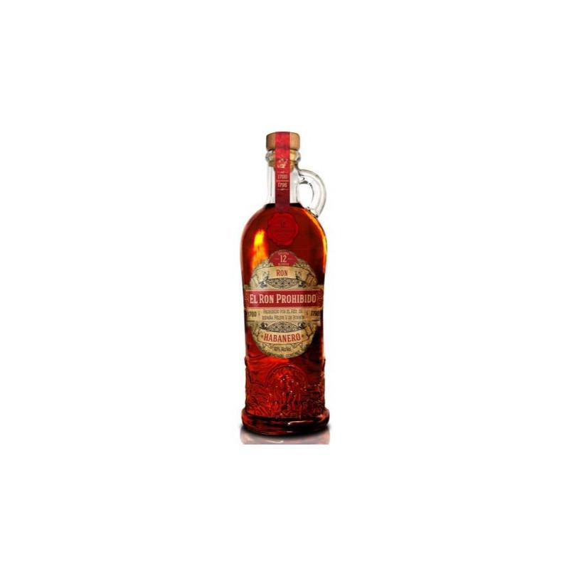 Rum Prohibido Solera 12 Blend Habanero -