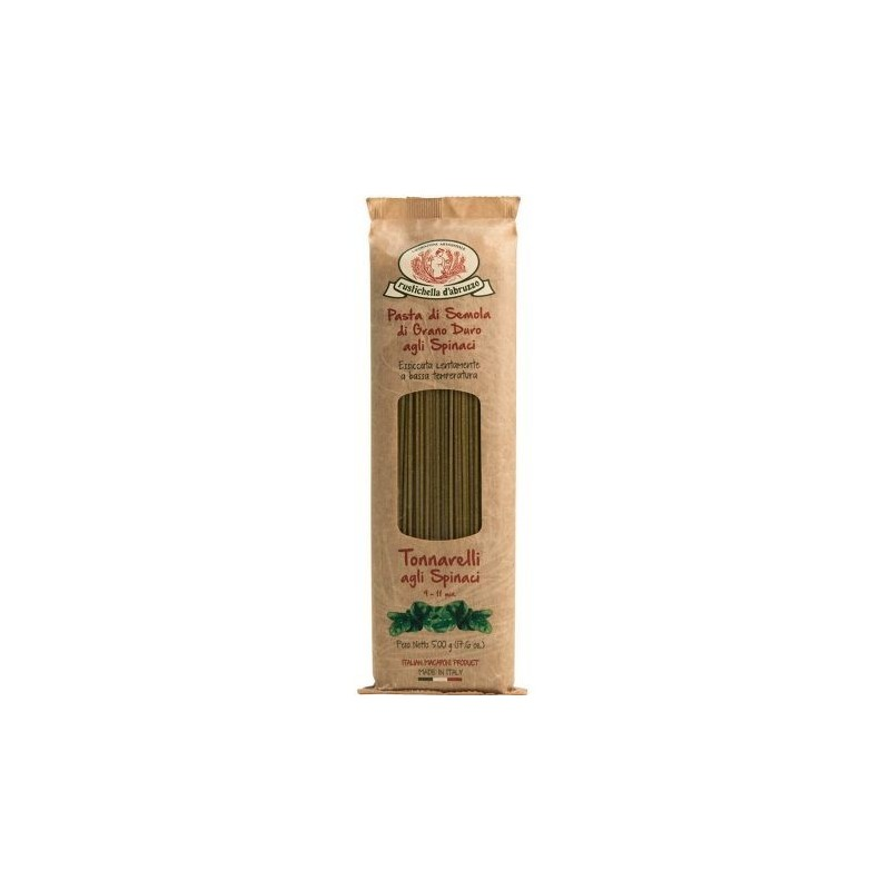 Rustichella d'Abruzzo Tonnarelli agli Spinaci Gr. 500 -