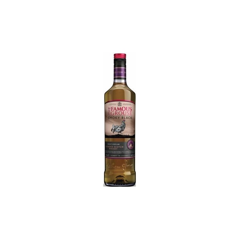 Whisky The Famous Grouse Smoky Black -