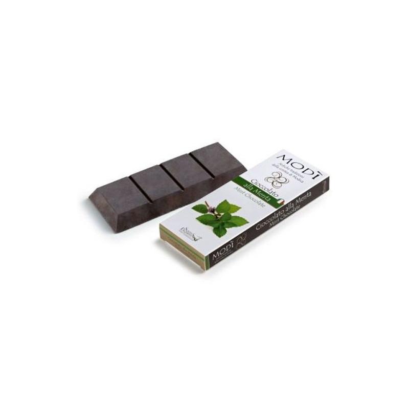 Cioccolato di Modica alla Menta Modì Gr. 100 -