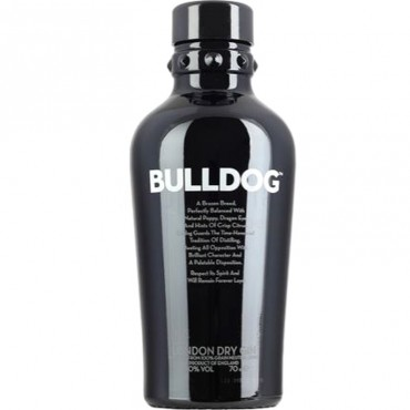 - Gin Bulldog London Dry Cl. 100