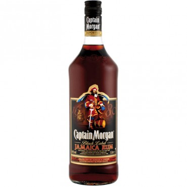 - Rum Captain Morgan Black Label
