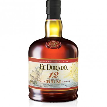 Rum El Dorado 12 Years Old -