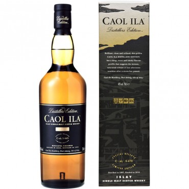 Whisky Caol Ila Distiller Edition -