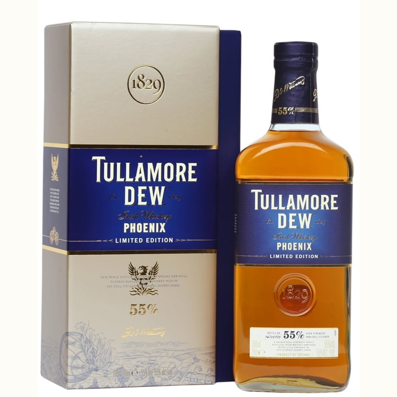 Tullamore D.e.w. Phoenix Limited Edition Irish Whisky -