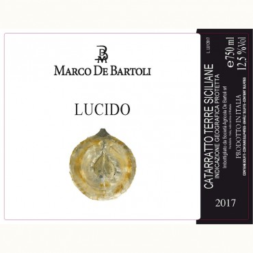 Marco De Bartoli Catarratto Lucido 2017 -