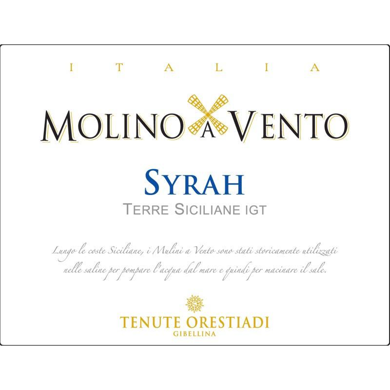 Orestiadi Molino a Vento Syrah 2014 -