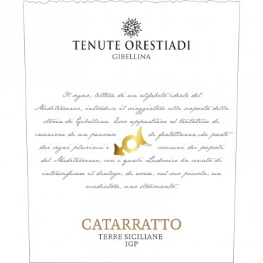 Tenute Orestiadi Catarratto DOC 2017 -