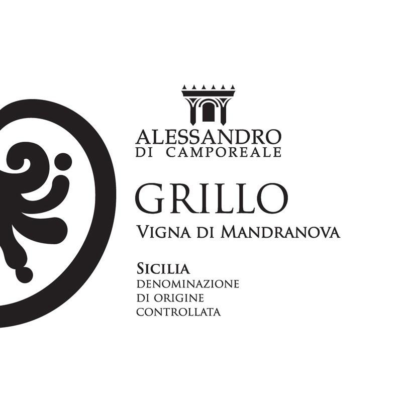 Alessandro di Camporeale Grillo Vigna di Mandranova 2018 -