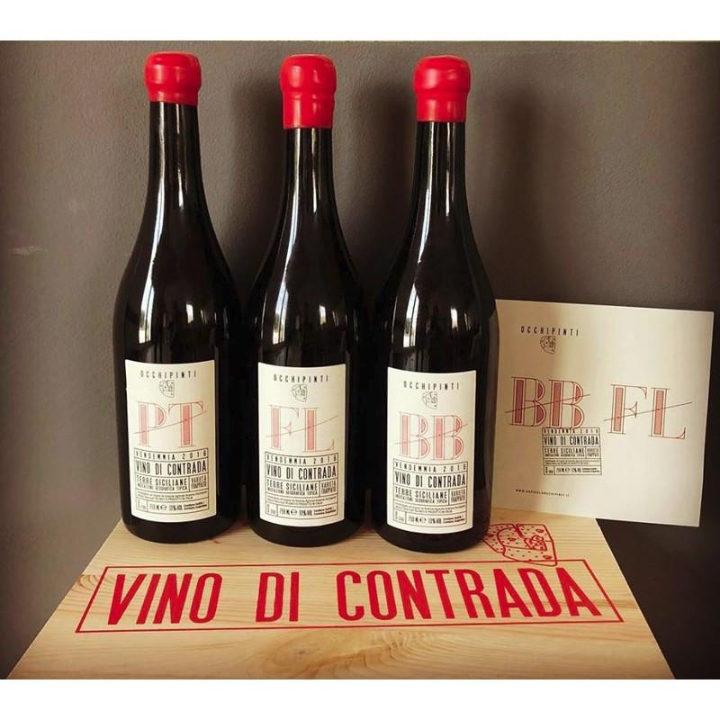 Arianna Occhipinti Vini di Contrada - Pettineo, Fossa di Lupo, Bombolieri -