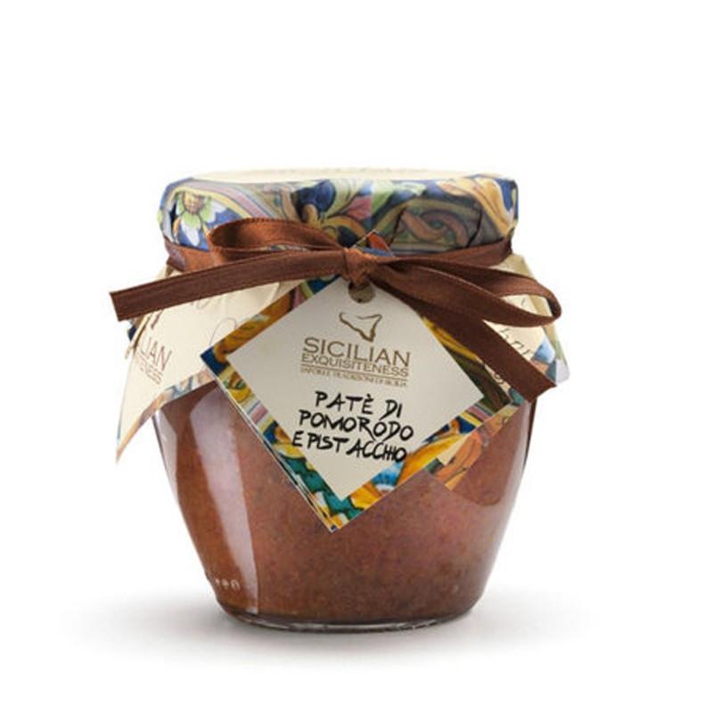 Patè di Pomodoro e Pistacchio Sicilian Exquisiteness Gr. 180 -