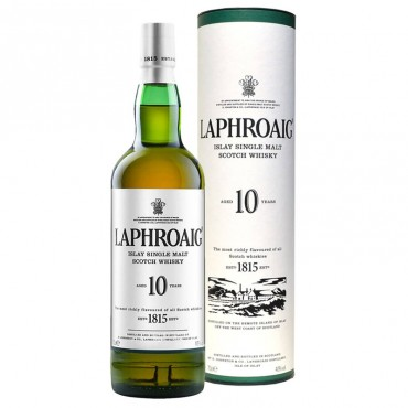 Whisky Laphroaig Single Malt  10 Years Old -
