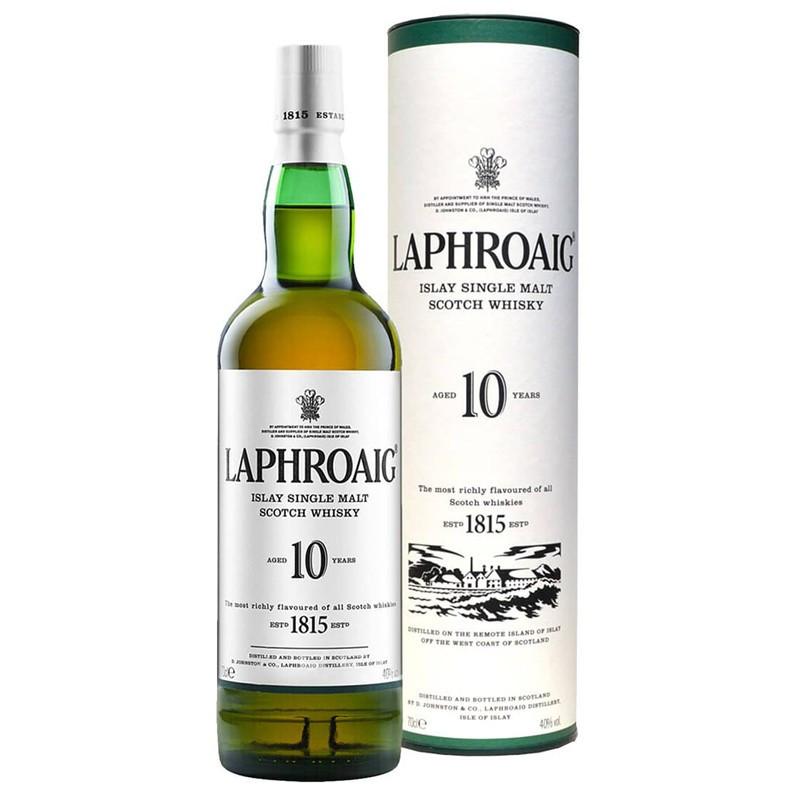 Whisky Laphroaig Single Malt  10 Years Old -