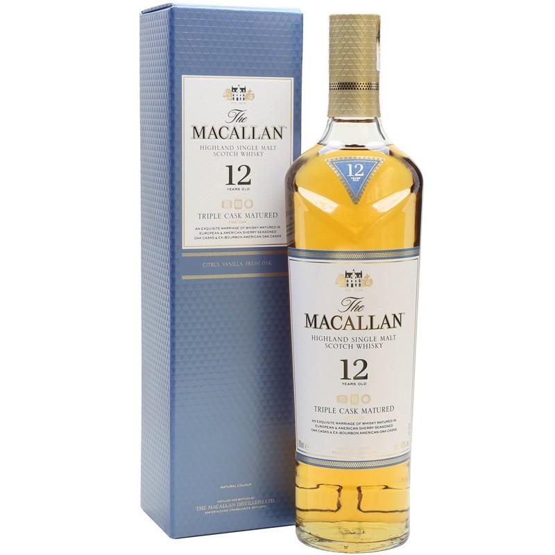 The Macallan Triple Cask Matured Single Malt Whisky 12 Y.O.