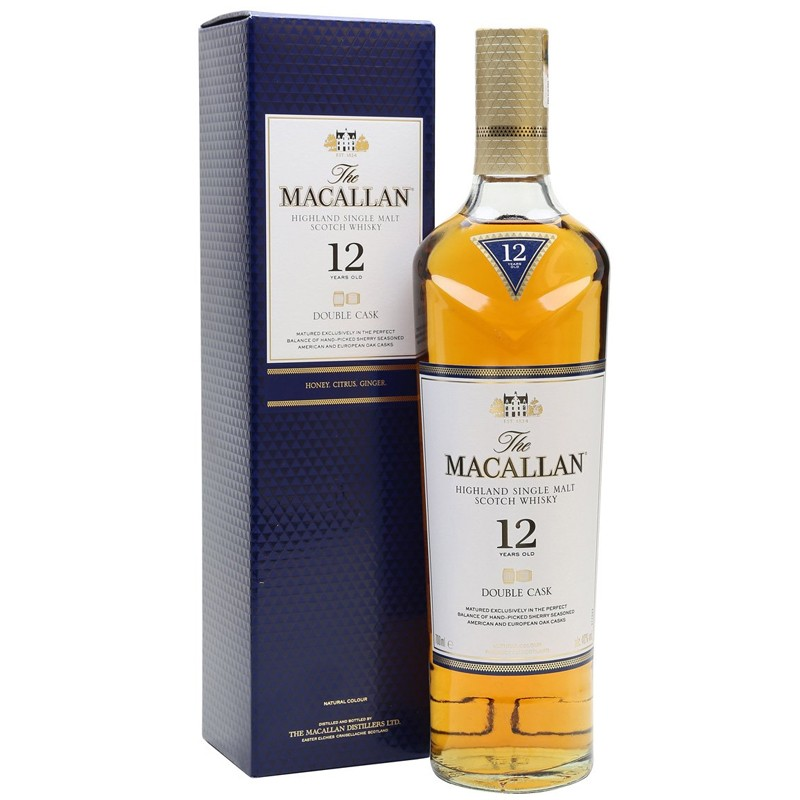 Whisky The Macallan Double Cask Matured Single Malt 12 Y.O. -