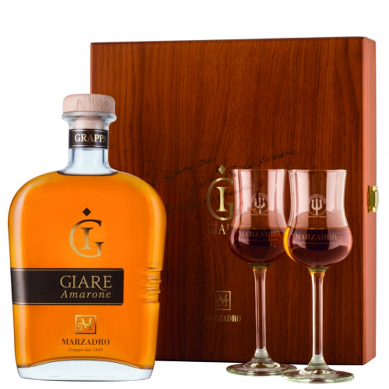 Marzadro Confezione Legno Le Giare Amarone -