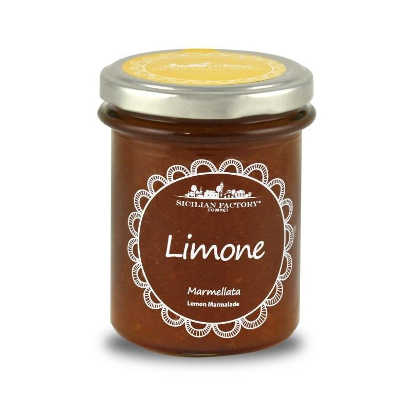 Sicilian Factory Marmellata di Limoni  e Zenzero Gr. 240 -