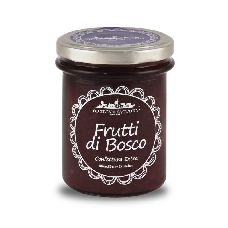 Sicilian Factory Confettura Extra di Frutti di bosco Gr. 240 -