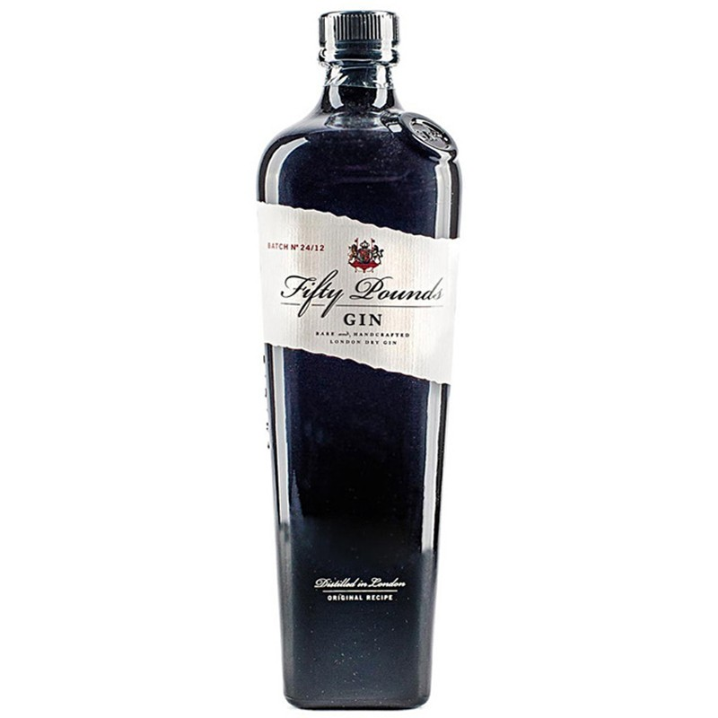 """Fifty Pounds London Dry Gin """"Gift Box"""" -"""
