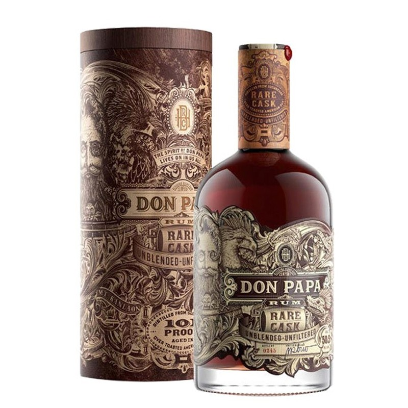 Rum Don Papa Rare Cask Astucciato 50,3% Vol. -