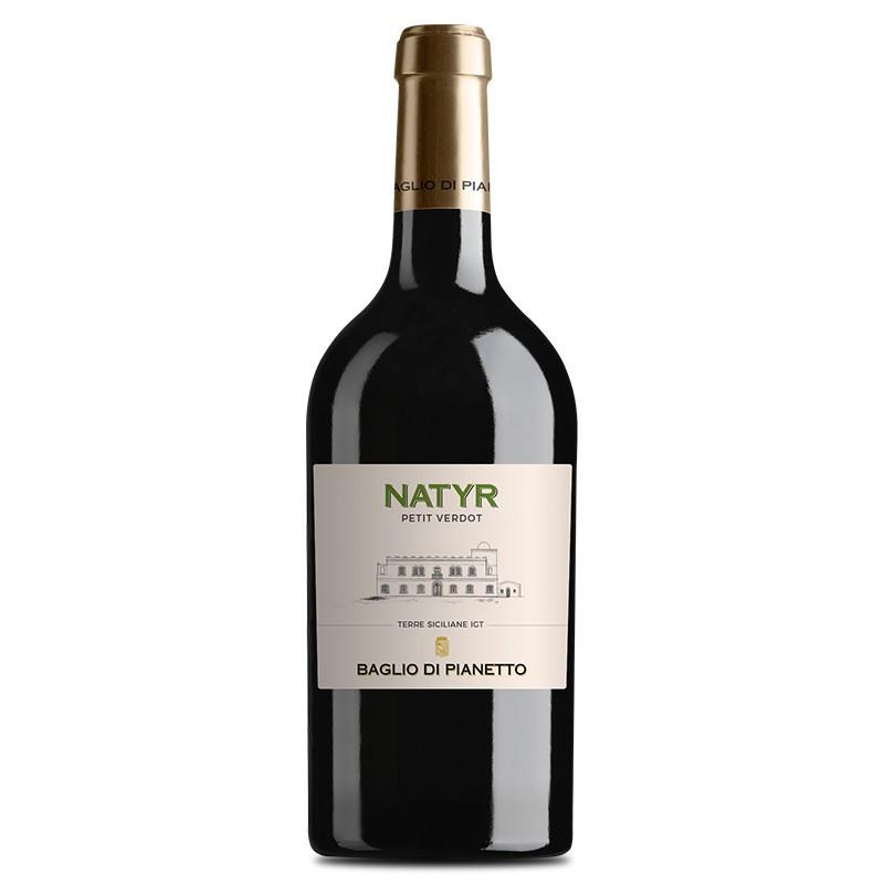 Baglio di Pianetto Natyr Petit Verdot 2015 Vino Naturale