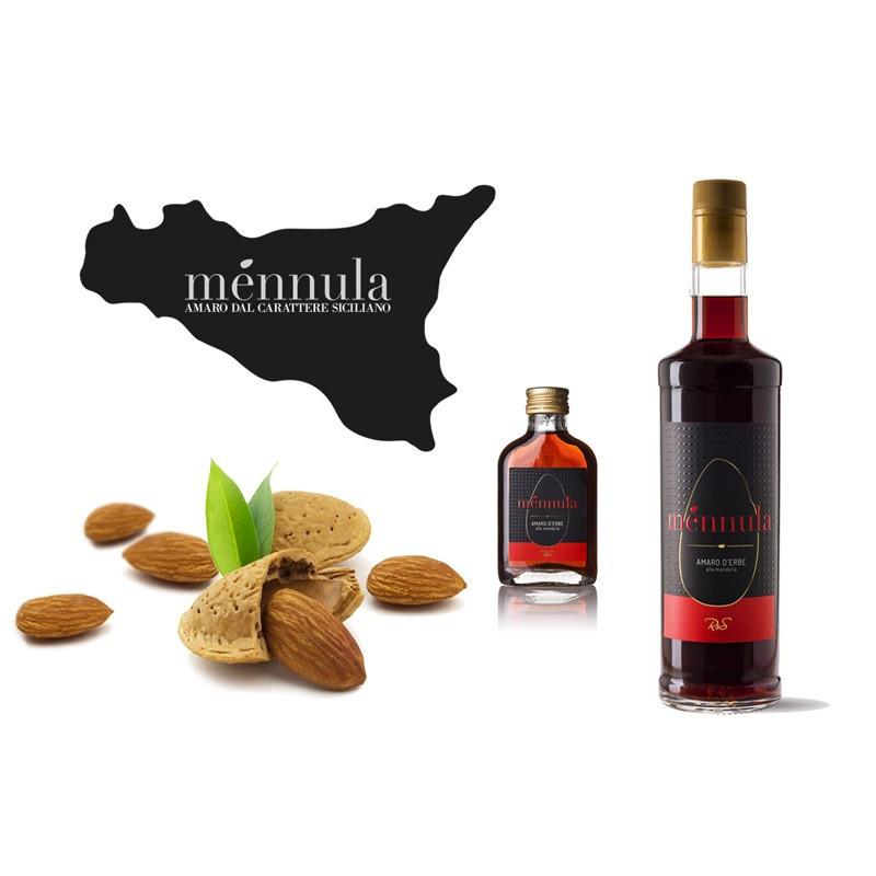 Amaro d'erba alla Mandorla Ménnula 0,70 Lt. -