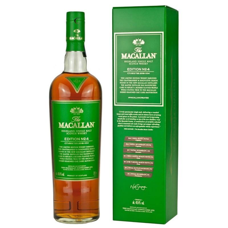Whisky The Macallan Limited Edition N° 4 Single Malt Scotch -
