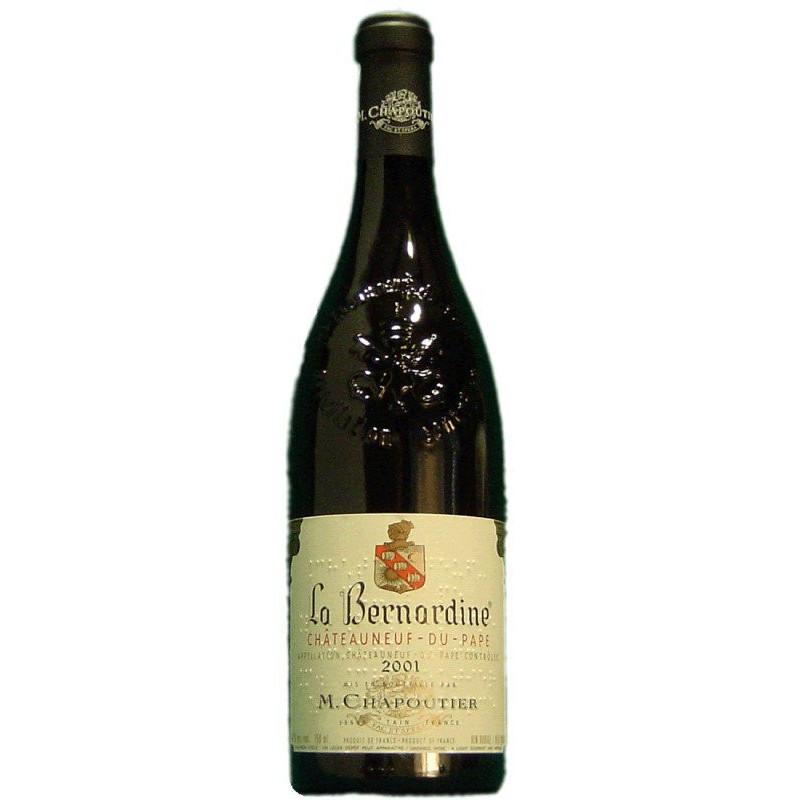M. Chapoutier La Bernardine 2001 -