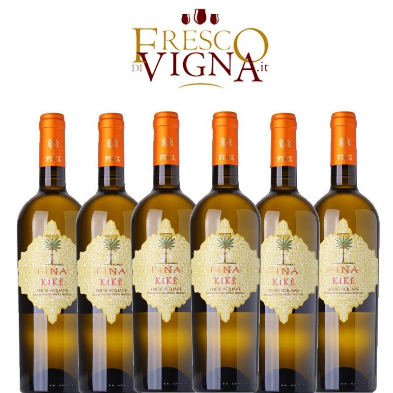 Fina Kikè Traminer Aromatico 2019 Box da 6 Bottiglie -