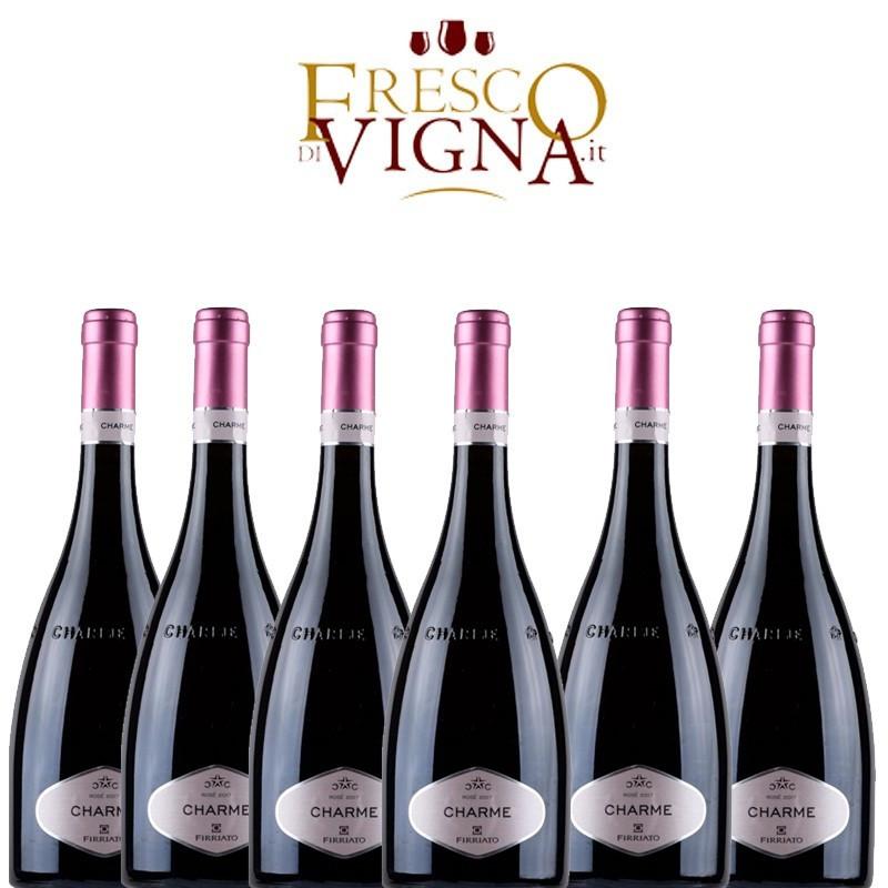 Firriato Charme Rosé 2018 Box da 6 Bottiglie -
