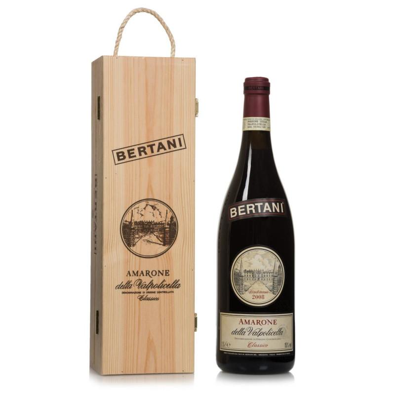 Bertani Amarone Classico Docg 2010 Cassetta Legno -