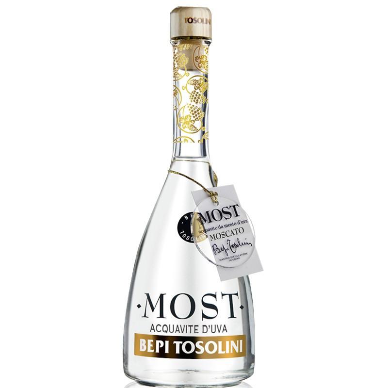 Tosolini Most Acquavite Moscato Rosa (Astucciato) -