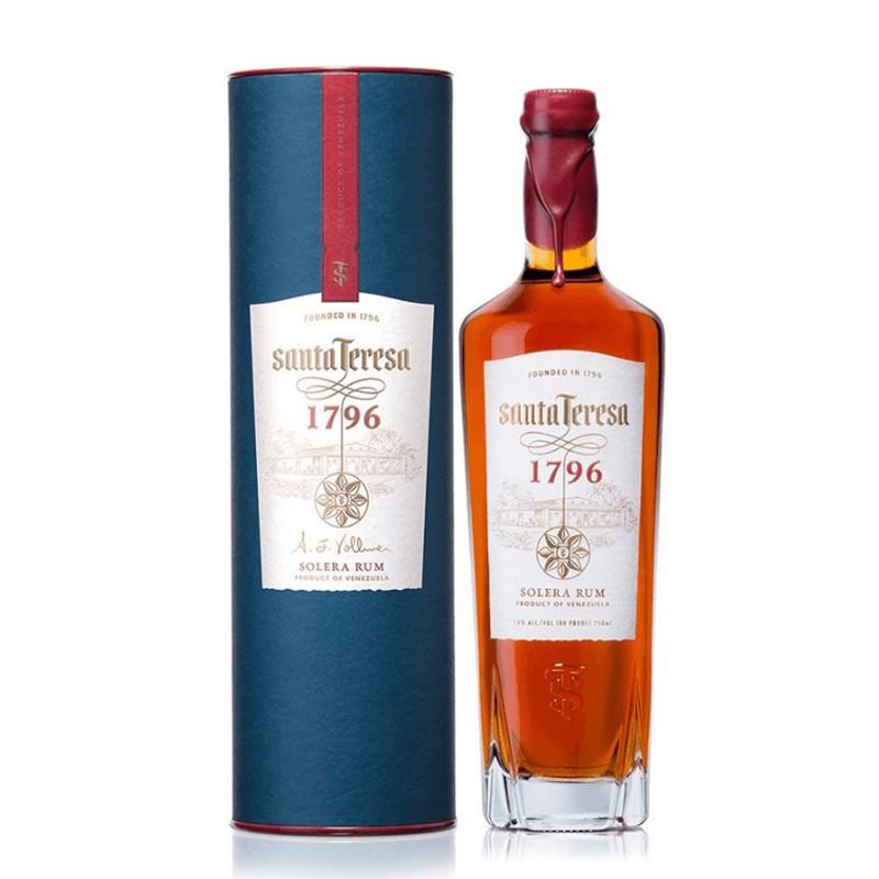 Rum Antiguo de Solera Santa Teresa 1796 Astucciato -