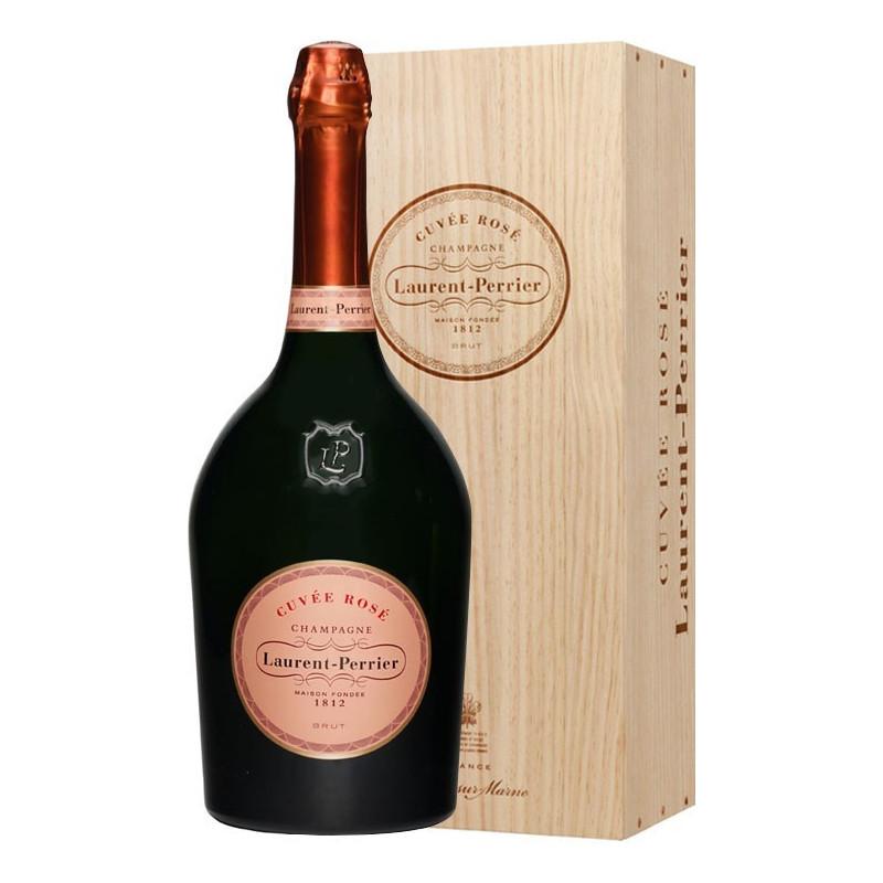 Laurent Perrier Champagne Cuvée Rosé Cassa Legno -