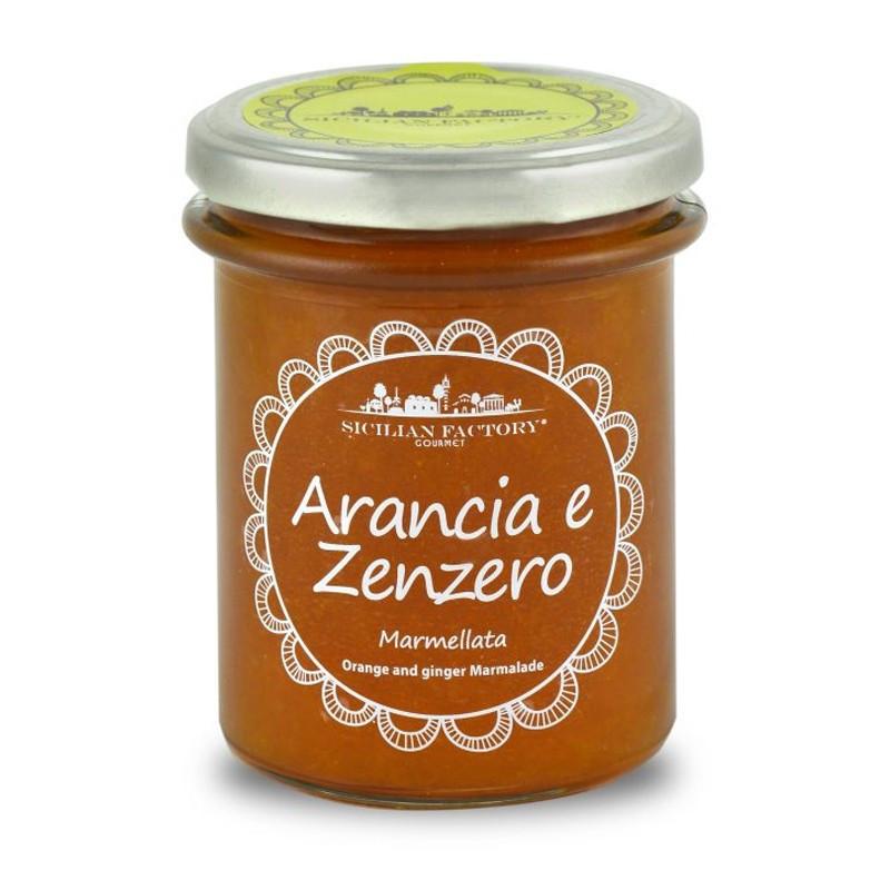 Sicilian Factory Marmellata di Arancia e Zenzero Gr. 240 -