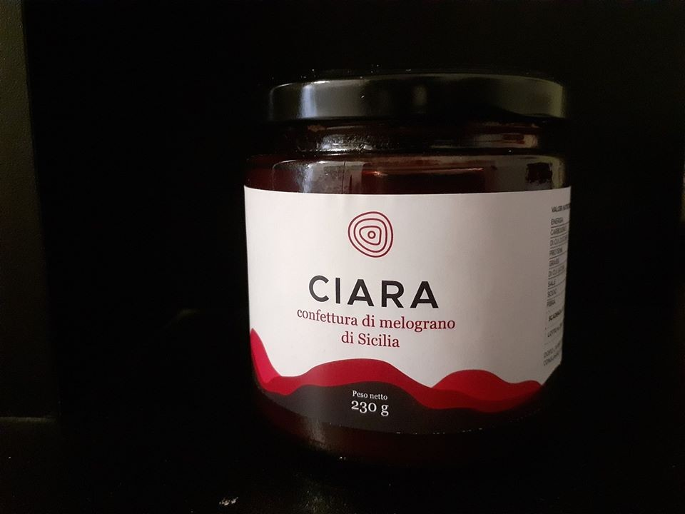 Ciara Confettura di melograno di Sicilia