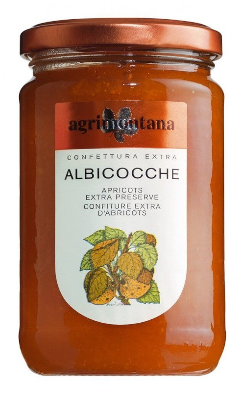 Agrimontana Confettura di Albicocche