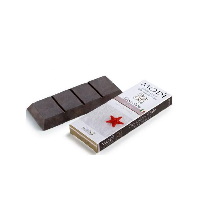 Cioccolato di Modica Puro Con Mandorla Amara Gr. 100 -