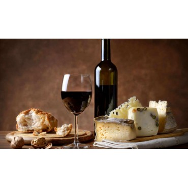 copy of Tasting box Formaggi , vino e marmellata. -
