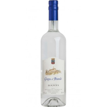 Castello Banfi Grappa di Brunello -