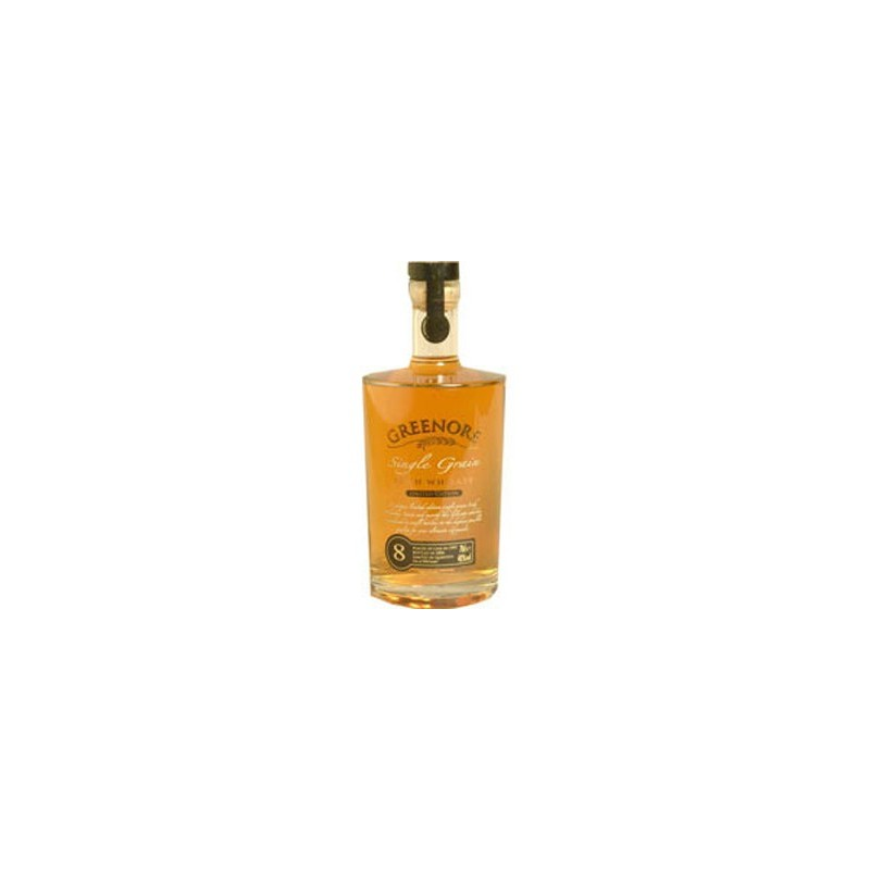 Greenore Single Grain Irish Whiskey 8 Years Old -