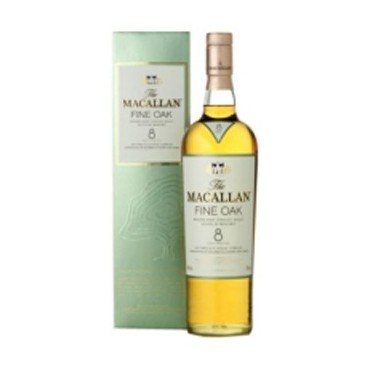 Whisky The Macallan Fine Oak 8 Years Old - Single Malt -