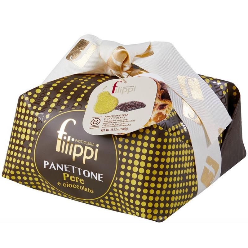Filippi Panettone con Pere e cioccolato -