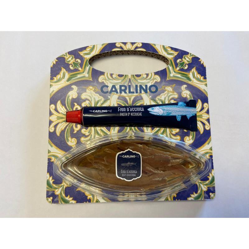 Carlino Acciughe e Pasta d'Acciughe Pack -