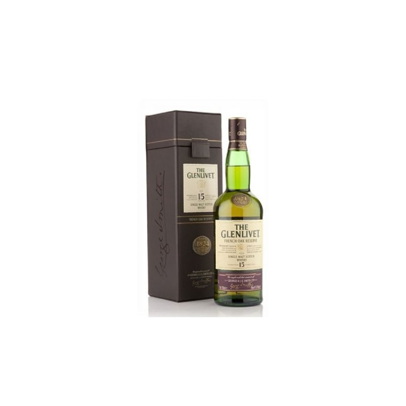 The Glenlivet Whisky French Oak Reserve 15 Years Old -