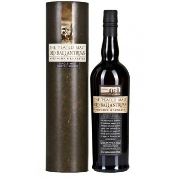 Whisky Old Ballantruan Single Malt Peated -